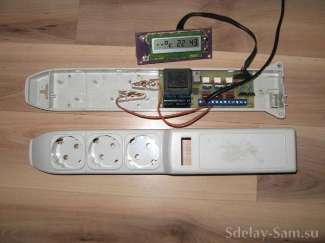 Простой аквариумный контроллер