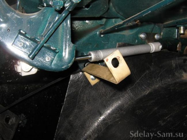 Автоматическое открывание багажника на ВАЗ 2107