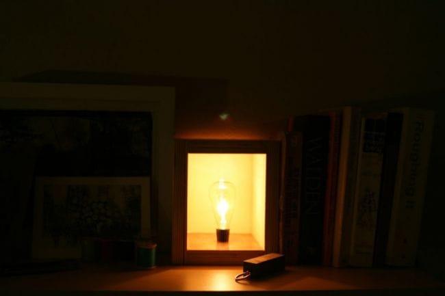 Светильник с тайником