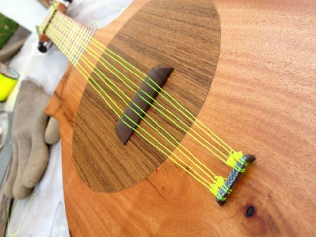 Как сделать струны на гитару своими руками 73