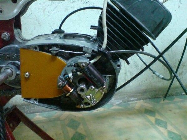 Моделист-Конструктор  1983-07. Электронное зажигание для мопеда