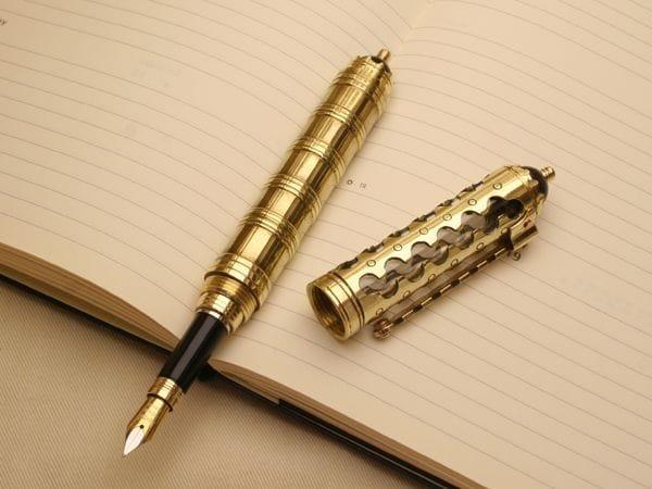 Делаем крутую ручку в стиле стимпанк своими руками