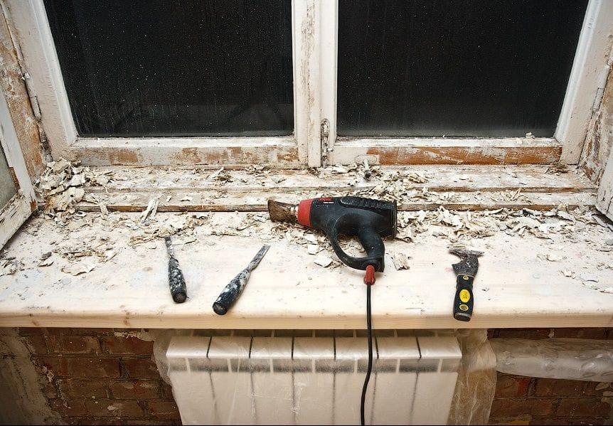 Ремонт деревянной оконной рамы своими руками