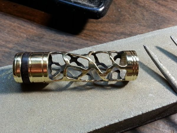 Эксклюзивная ручка в стиле стимпанк