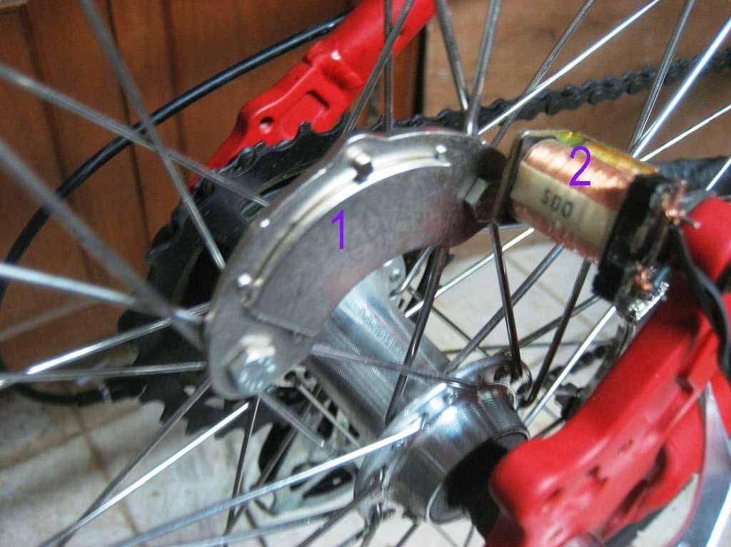 Электрогенератор на велосипед своими руками