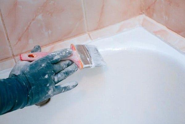 Старая ванна как новая! Реставрируем старую ванну