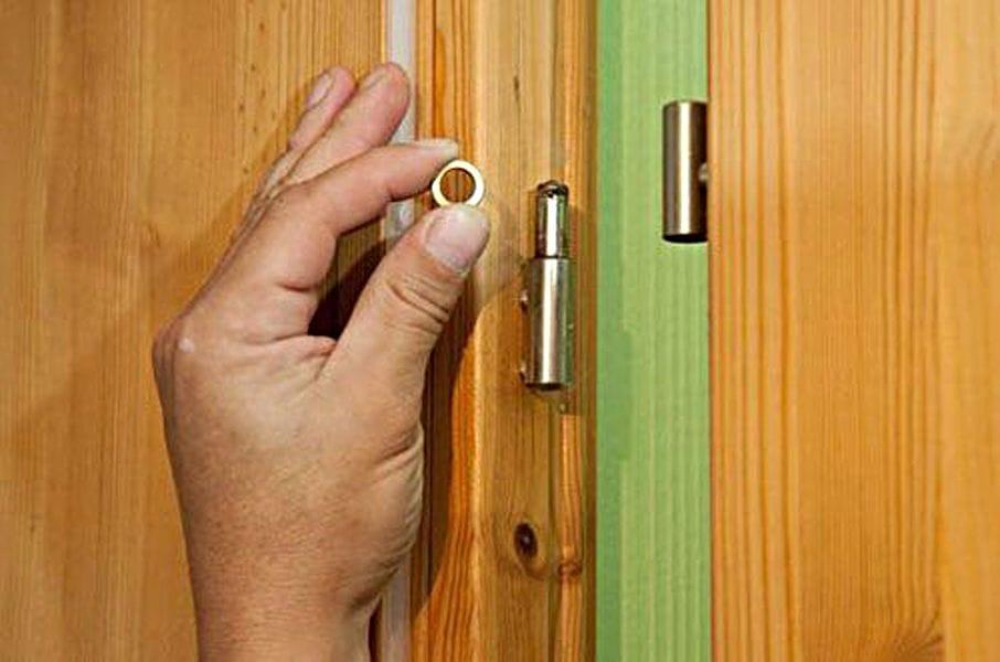 Как сделать чтобы дверь не закрывалась
