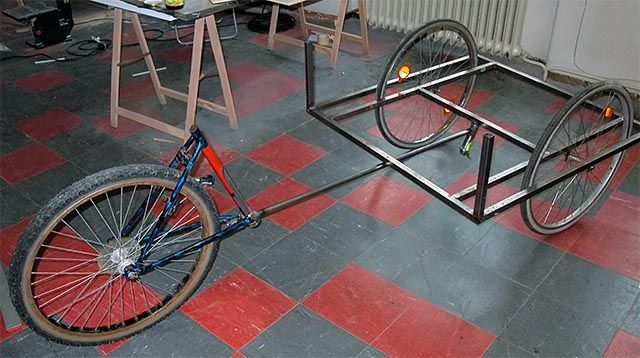 Грузовой велосипед как сделать