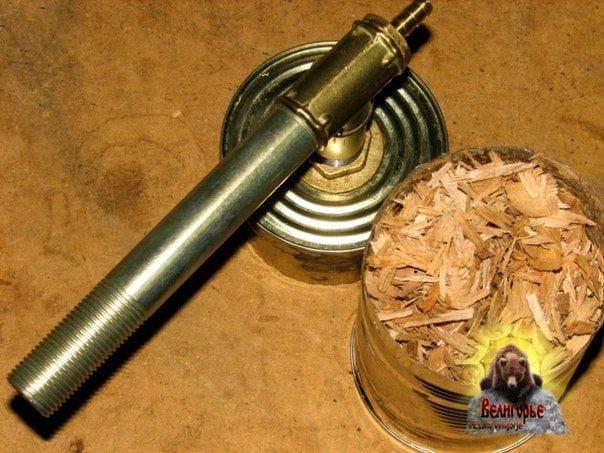 Генератор дыма из подручных материалов