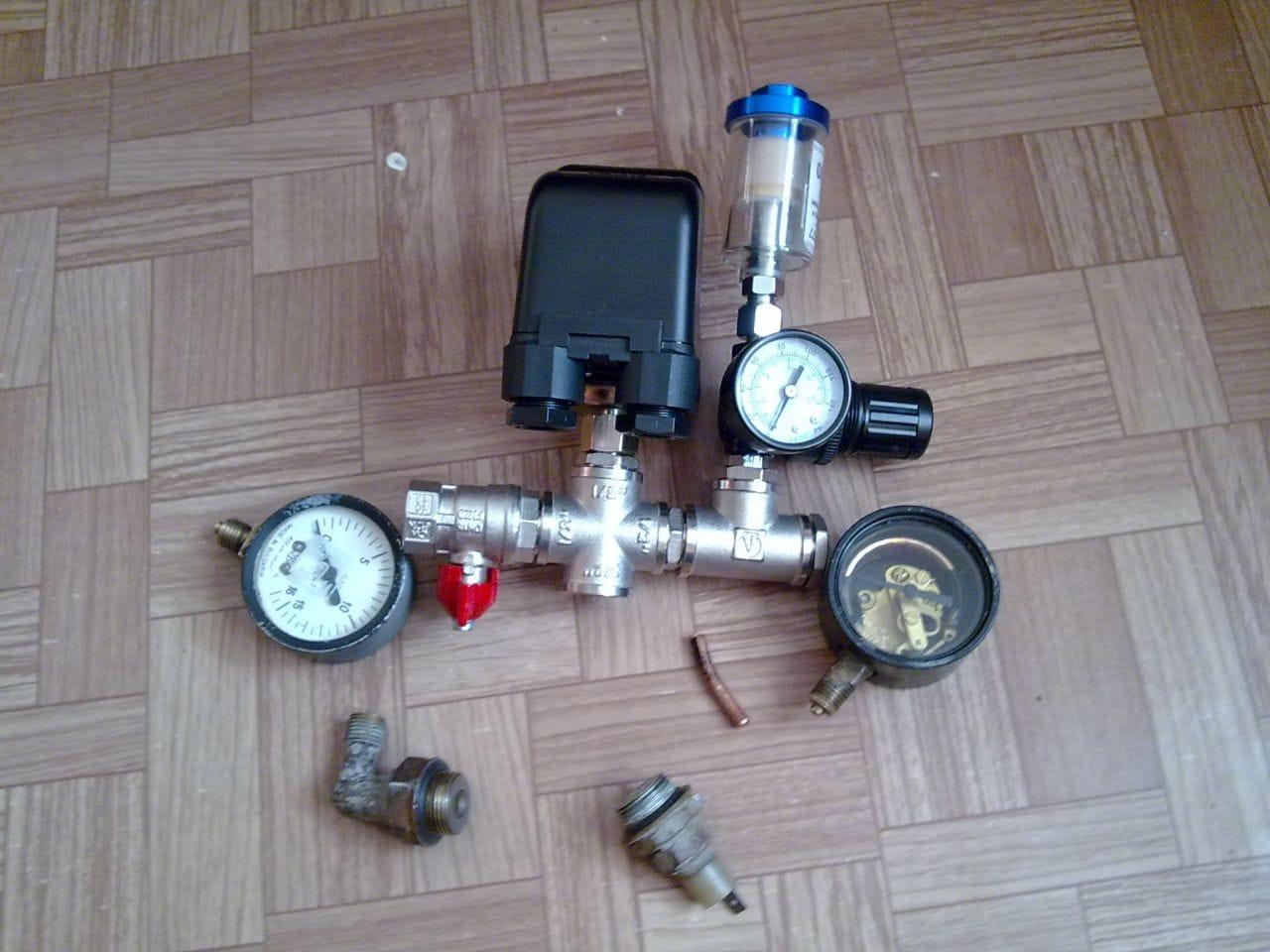 Как собрать воздушный компрессор
