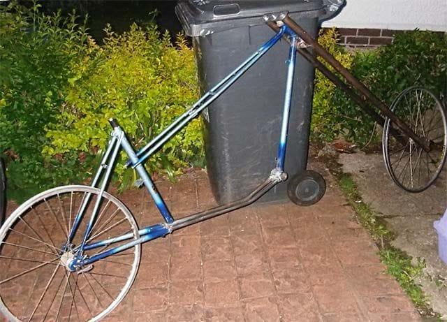 Велосипед чоппер с минимальными затратами