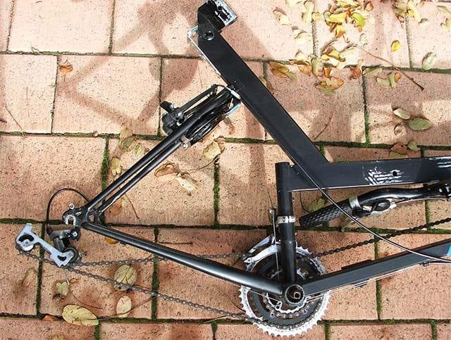 Изготовление лежачего велосипеда с длинной колесной базой