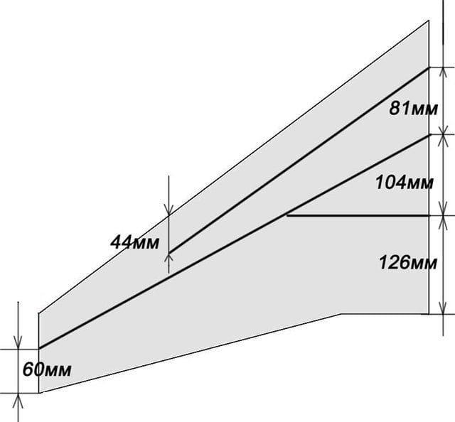 Делаем авиамодель летающее крыло «Вжик»