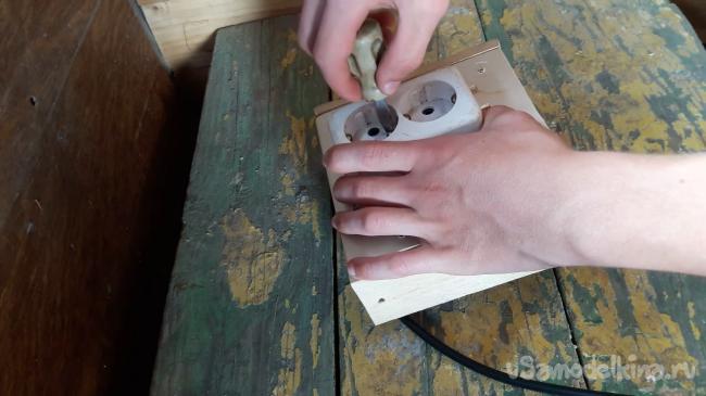 Самоскручивающийся удлинитель из сломанного пылесоса своими руками