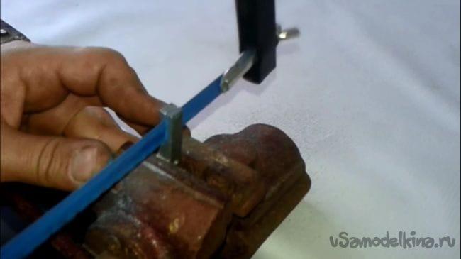 Лобзик из дверной ручки