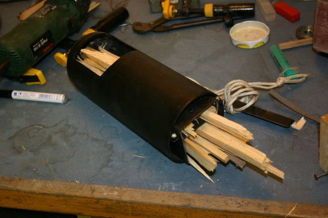 Ракетная печь для отдыха