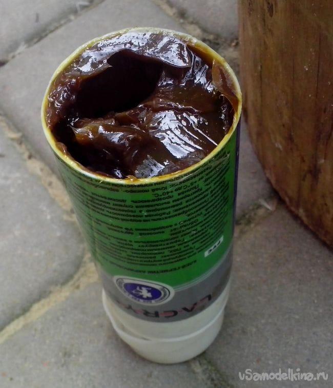 Самодельный дозатор масла для смазки из картриджа от герметика