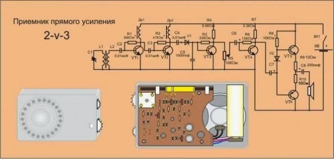 Простые транзисторные супергетеродины