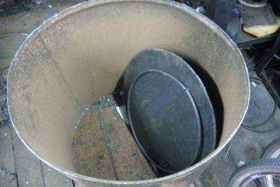 Бетоносмеситель из 200 литровой бочки своими руками