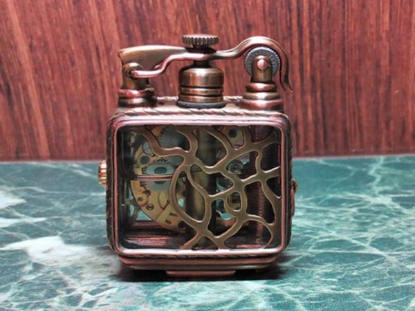 Зажигалка-часы своими руками