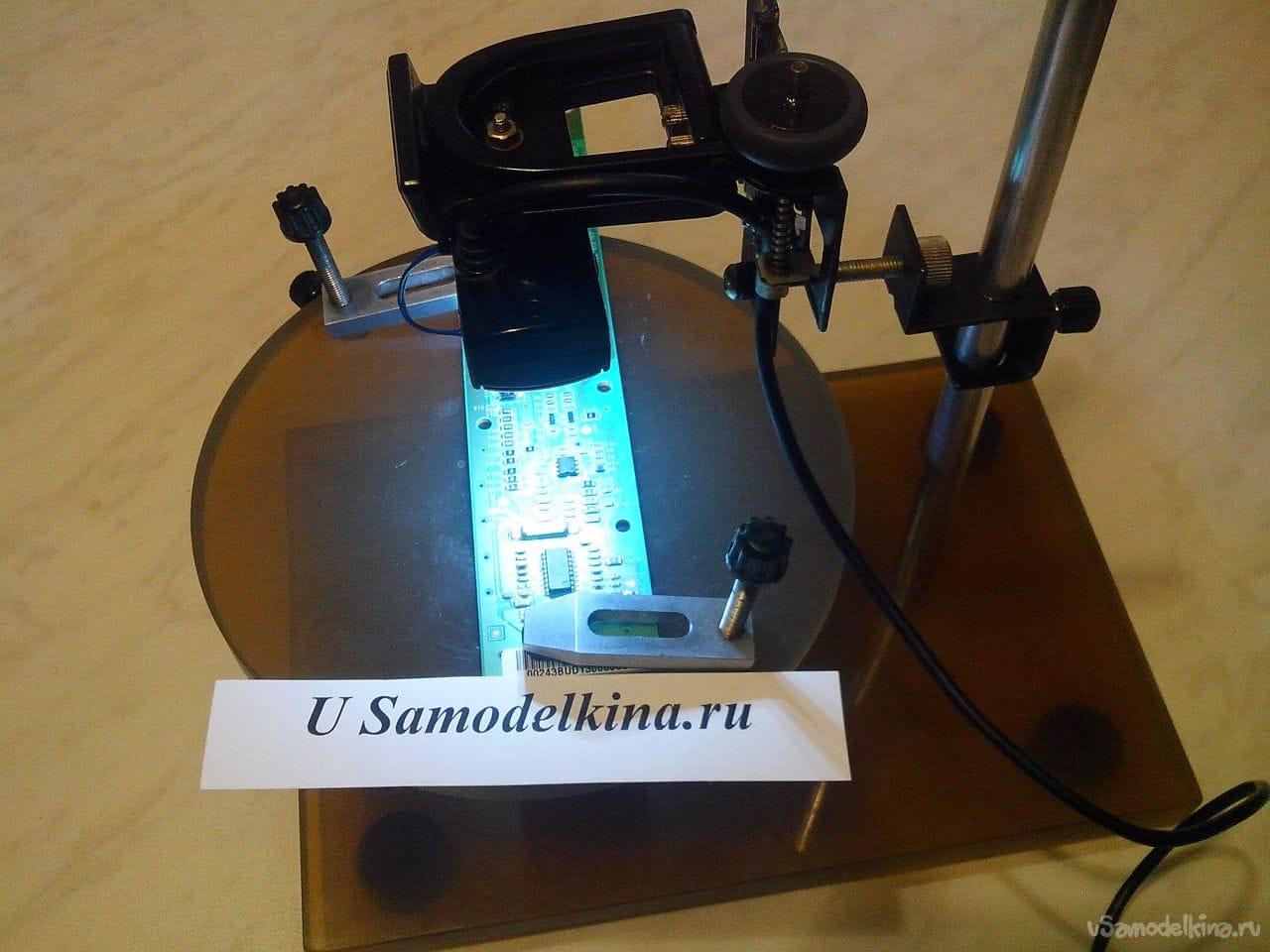 Микроскоп из цифрового фотоаппарата своими руками