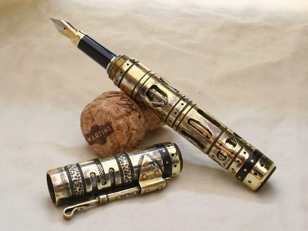 Перьевая ручка ворклог своими руками