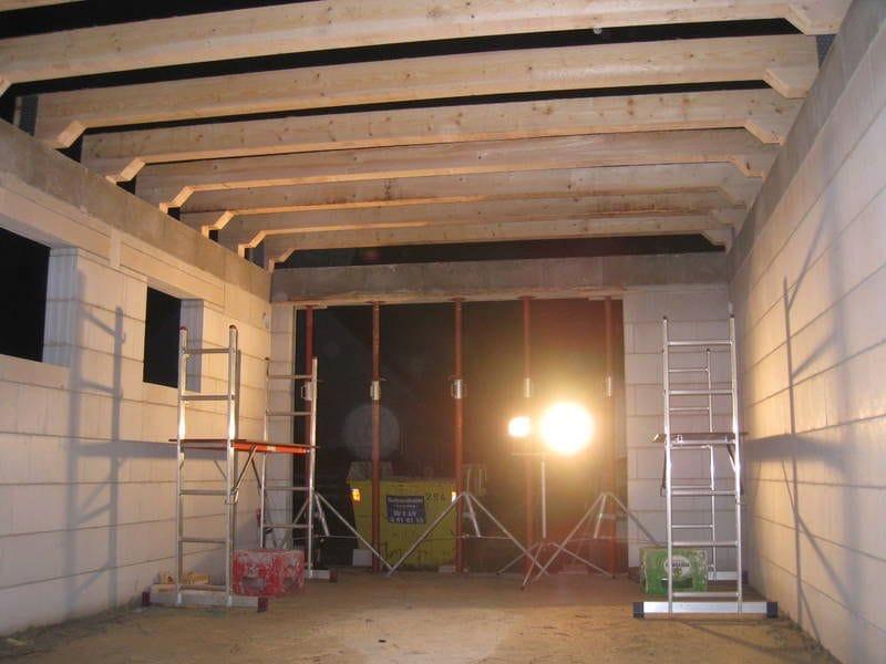 Строим крышу гаража своими руками