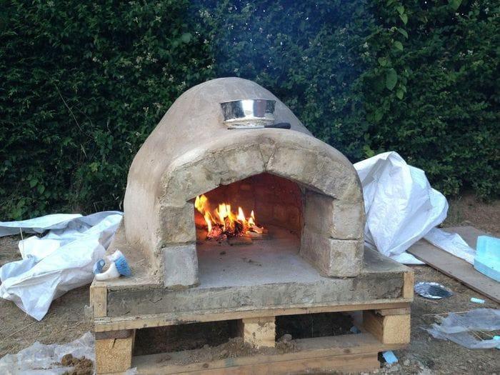 Печь для выпекания хлеба своими руками