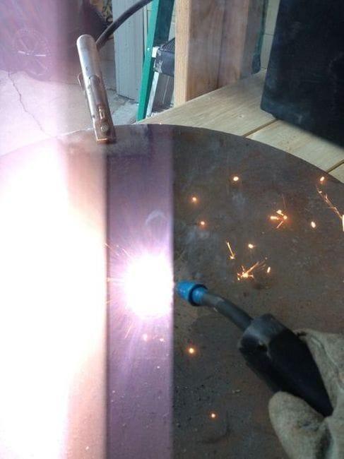 Сковорода для приготовления из диска бороны