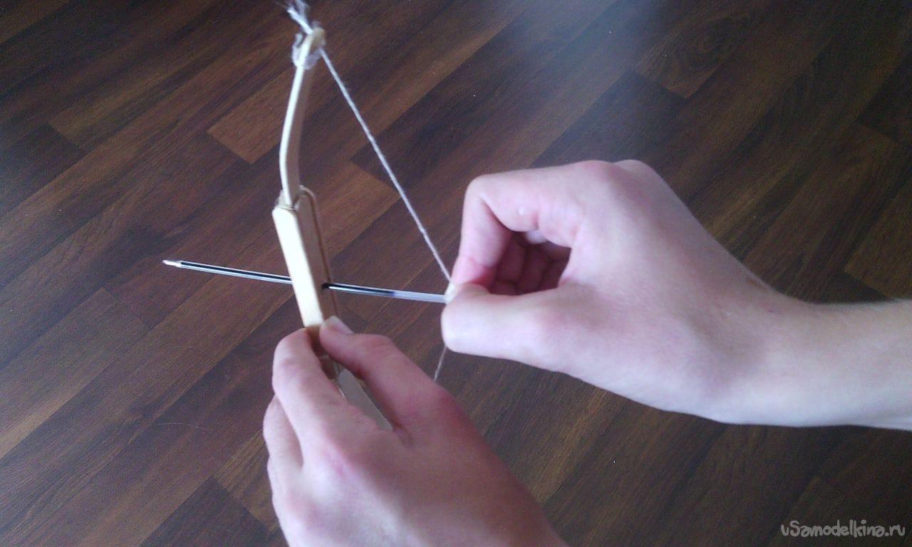 Как сделать лук если нет палок 495