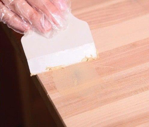Как реставрировать старый стол