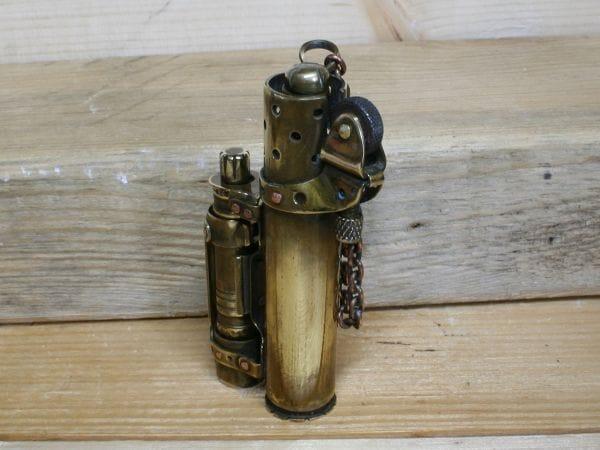 Зажигалка с канистрой своими руками