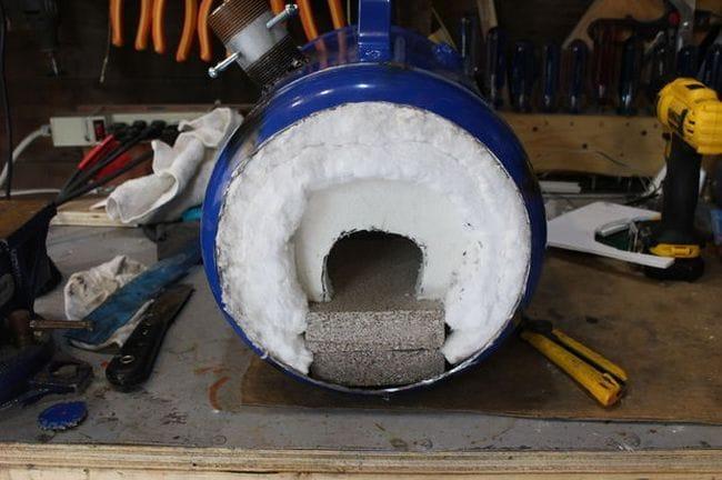 Печь для кузнеца или стеклодува