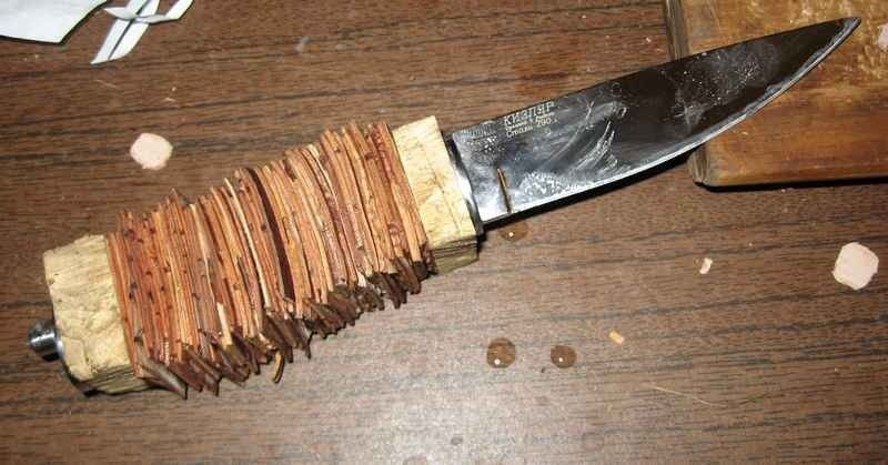Как сделать ножны для ножа из дерева