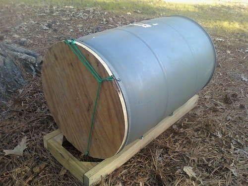 Чудо-помощник - бочка для компостирования (компостная бочка)