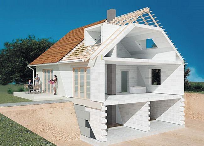 Как самому построить дом