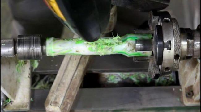 Изготовление ручки из использованных пластиковых бутылок