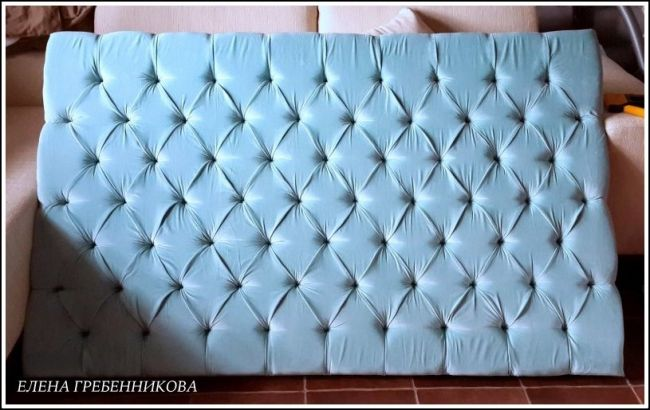 Изголовье для кровати в технике каретной стяжки - мастер-класс