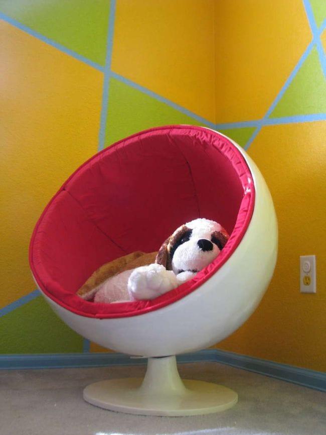 Технология изготовления круглого кресла в домашних условиях