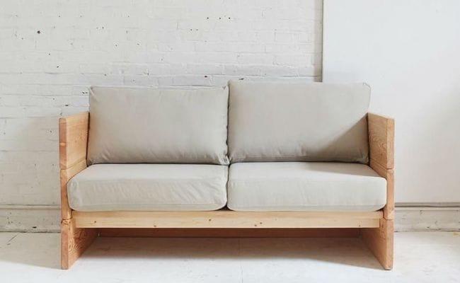 Самый простой диван своими руками