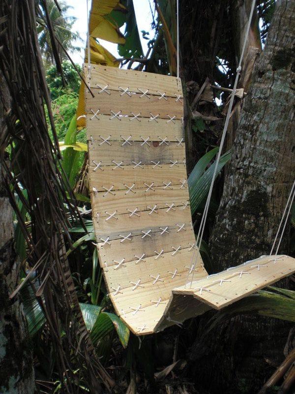 Кресло-гамак из строительного поддона