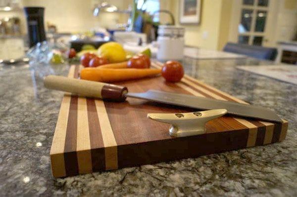 Клеенная разделочная доска для кухни