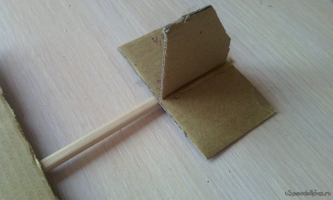 Как сделать лук из палочек