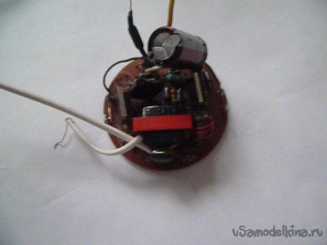 Бесплатный самодельный драйвер для питания светодиодов из электронного преобразователя энергосберегающих ламп