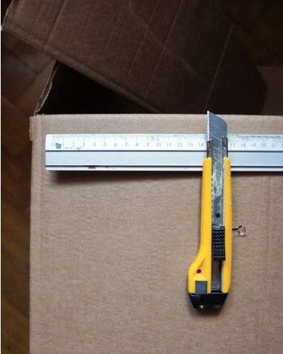 Изготовление лайтбокса из картонной коробки