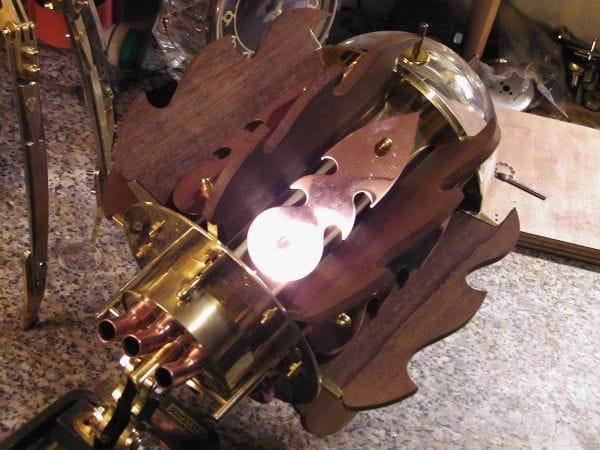 Лампа с регулировкой яркости своими руками