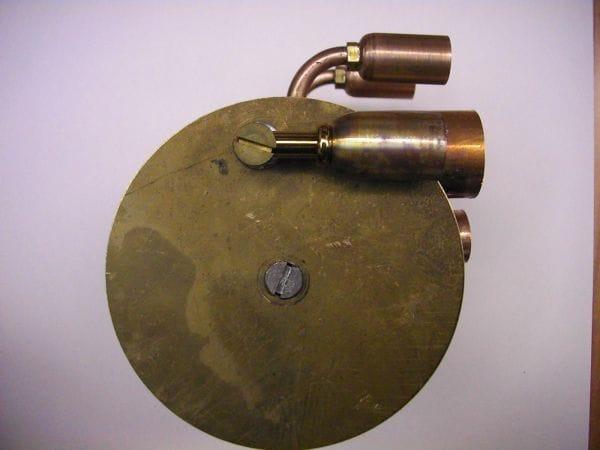 Настольная лампа паро-паук в стиле стимпанк