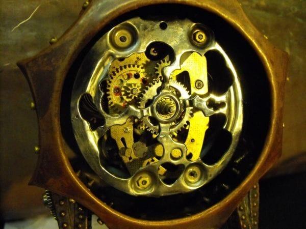 Машина времени в стиле стимпанк