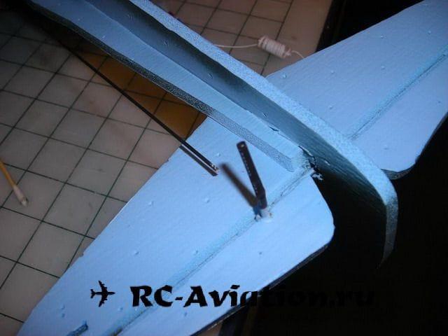 Крестолет - авиамодель из потолочки своими руками