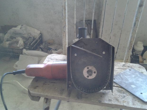Крупорушка из УШМ-ки